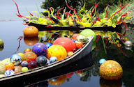 Chihuly Canoe